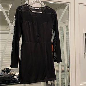 Sexy sheer dress